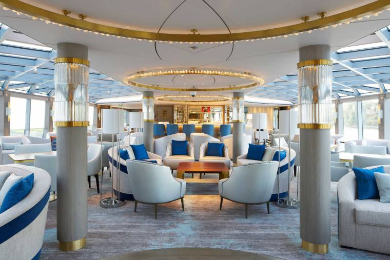 Crystal River Cruises Palm Court