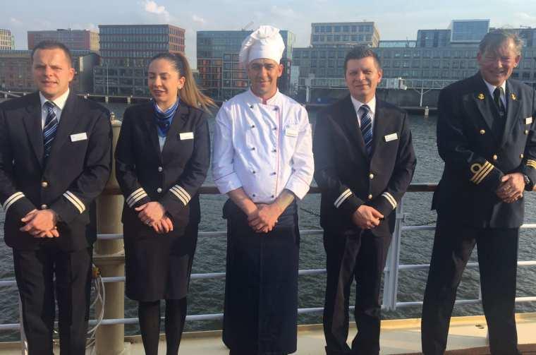 Hebridean Royal Crown crew members