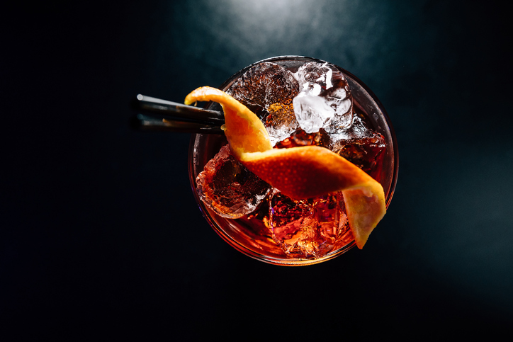cocktail recipe with ice