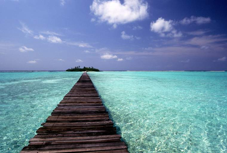 Exotic and iconic Malé in the Maldives.
