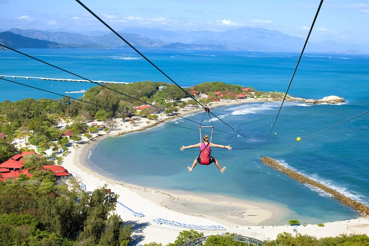 Labadee, Haiti, Caribbean, Royal Caribbean private island cruising for kids