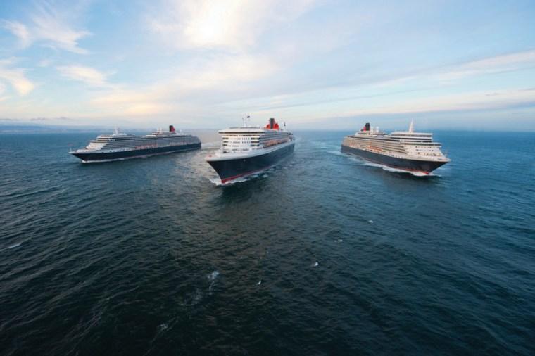 Three Queens, Cunard fleet