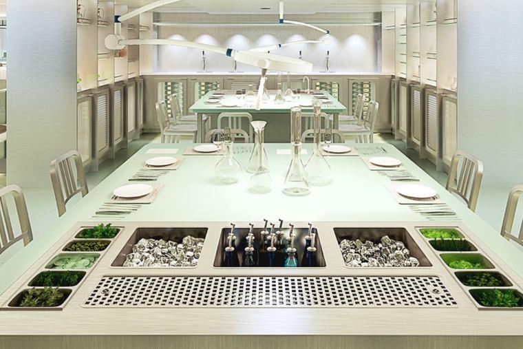Virgin Voyages Test Kitchen